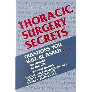 Thoracic Surgery Secrets, 1e