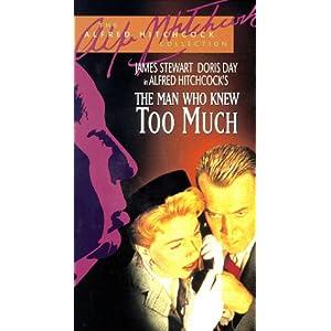 Man Who Knew Too Much James Stewart Doris Day Brenda De