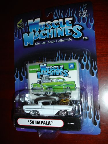 Muscle Machines 58 Impala White