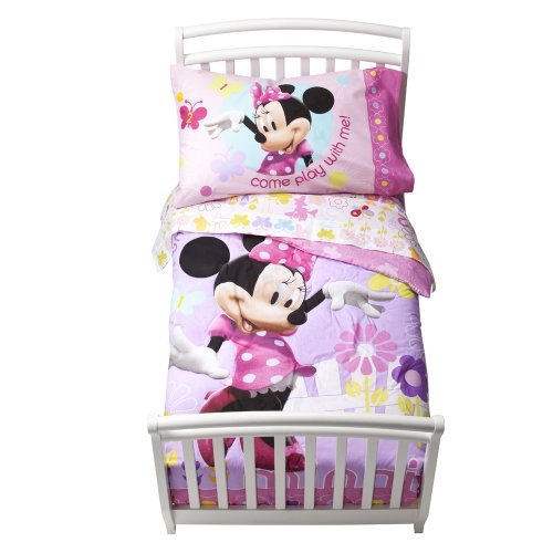 Disney Toddler Minnie Count Bedding Set