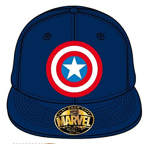Captain America Shield Cap Official New Blue Baseball Cap