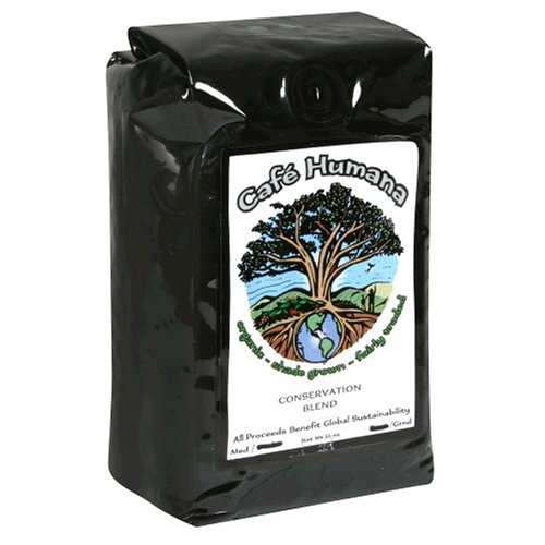 Cafe Humana Conservation Blend Medium Roast Drip Grind Coffee, 12-Ounce Bags (Pack of 2)