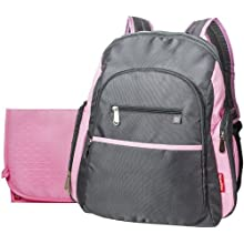 Fisher-Price Sporty Backpack - Grey/Pink