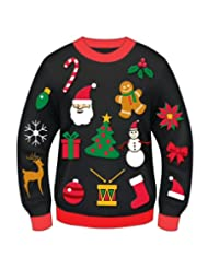 Forum Christmas Ornament Novelty Sweater