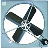 "TPI Corporation CE-30B Commercial Exhaust Fan, Single Phase, 30"" Diameter, 120 Volt"