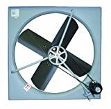 TPI Corporation CE-42B Commercial Exhaust Fan, Single Phase, 42&quot; Diameter, 120 Volt