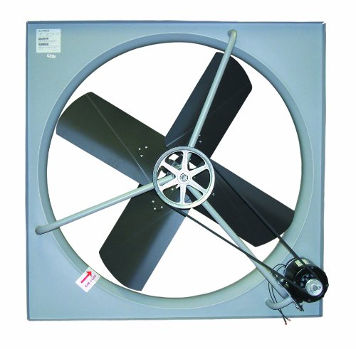 "Tpi Corporation Ce-24-B Commercial Exhaust Fan, Single Phase, 24"" Diameter, 120 Volt"