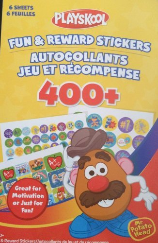 Playskool Mr. Potato Head Fun & Reward Stickers 400+