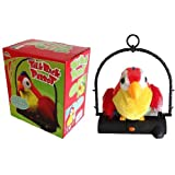 TALK BACK PARROT IT IMITATES YOUR VOICE IDEAL GIFT FOR CHILDREN EVEN ANYONE