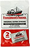Fisherman's Friend Original Extra Strong Lozenges, Menthol, 40 Count (Pack of 12)