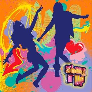 Shake It Up Beverage Napkin, 16 per package