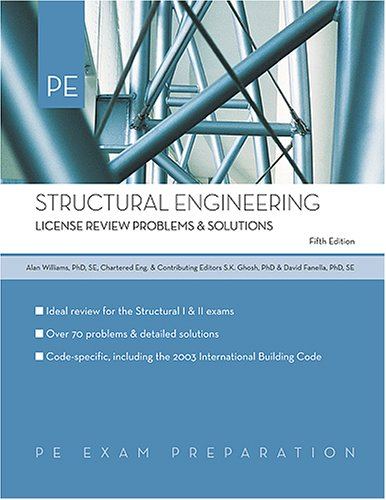 Structural Engineering: License Review Problems & Solutions