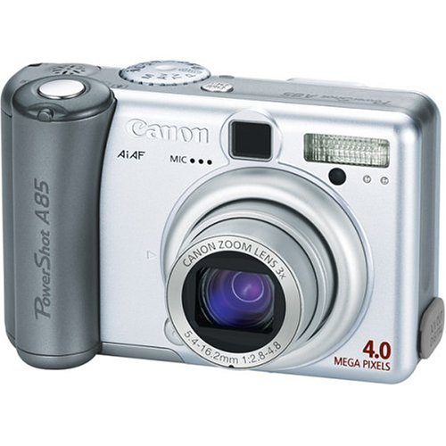 Canon PowerShot A85 4MP Digital Camera with 3x Optical Zoom