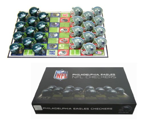 Philadelphia Eagles NFL Checker Set at Amazon.com