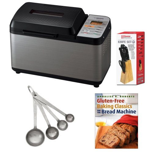Zojirushi BB-PAC20 Home Bakery Virtuoso Breadmaker + Stainless Steel Measuring Spoons, 4-Piece Set + Accessory Kit