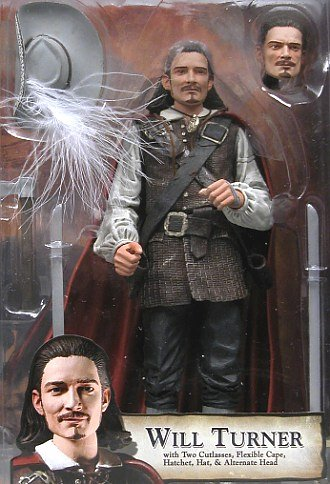 Buy Low Price NECA Pirates of the Caribbean Series 1 Will Turner Action Figure (B0006H5Z6G)