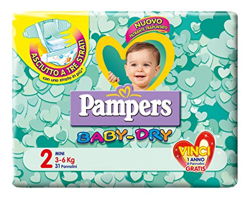 Pampers Baby Dry Mini x31 - Pannolini