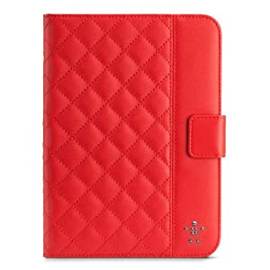Belkin Quilted Cover with Stand for iPad mini (Ruby) from Belkin Components