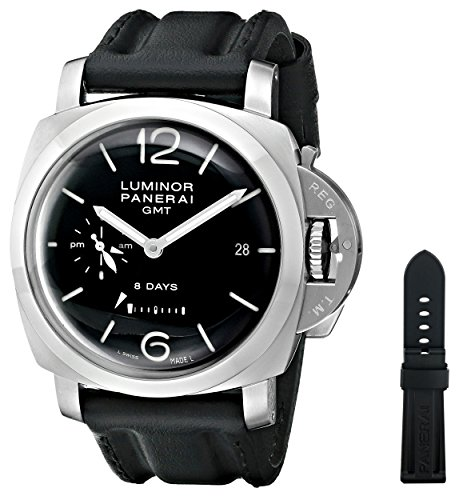 Panerai Panerai Men's PAM00233 Luminor 1950 Analog Display Swiss Automatic Black Watch