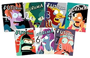 Futurama Volume 1-7 Collection