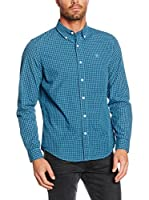 Timberland Camisa Hombre Tfo Ls Indr Pop Gng Niagara Yd (Cielo / Azul)