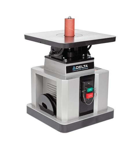 Delta Woodworking 31 483 Heavy Duty Oscillating Bench Spindle Sander 1 2 Hp 115 Volt Power