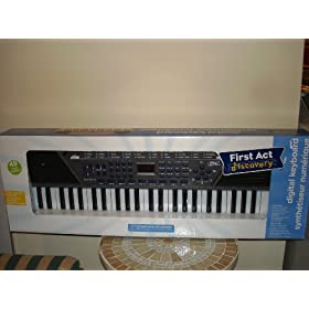 First Act Discovery Digital Keyboard