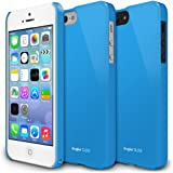 RINGKE SLIM Apple iPhone 5 / 5S Case [LF Blue] SUPER SLIM + LF COATED + PERFECT FIT Premium Hard Case Cover for Apple iPhone 5 / 5S [AT&T, Verizon, Sprint, Unlocked, ECO Package]