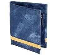 Laurels Men's Wallet Blue-SBK-07