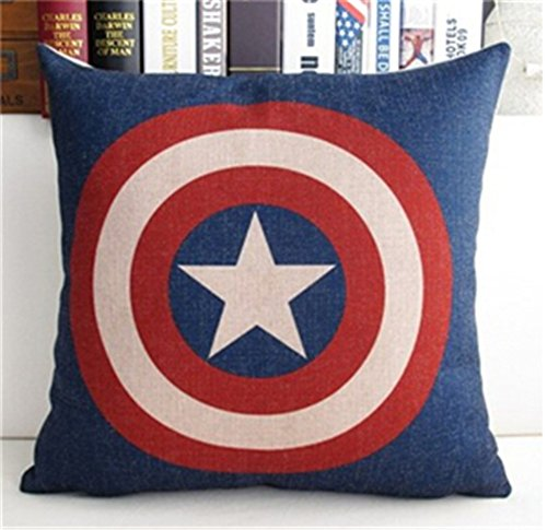 Casa serie marchio eroe cuscino cuscino super-decorativi