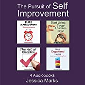 The Pursuit of Self Improvement Bundle Set 1: Books 1-4 | Jessica Marks
