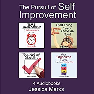 The Pursuit of Self Improvement Bundle Set 1: Books 1-4 | [Jessica Marks]