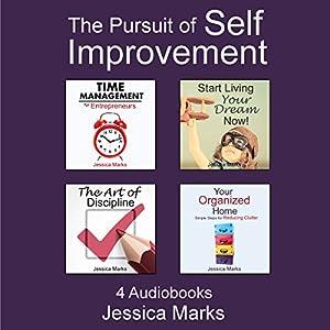 The Pursuit of Self Improvement Bundle Set 1: Books 1-4 Audiobook
