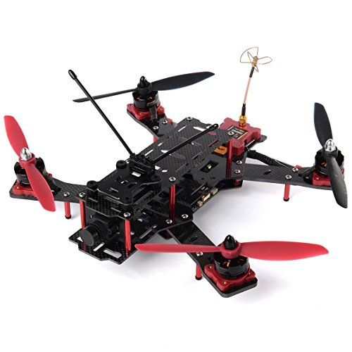 Emax Nighthawk Pro FPV Mini 280 Racing Quadcopter Drone ARF CMOS IC Board RC145