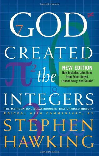 stephen hawking god created the integers pdf