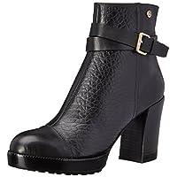 Diesel Women's Windup Bora Harness Boot, Black/Black, 7 M US