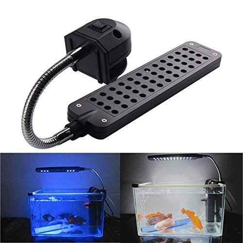 Vakind® Dc12V 3.5W 48Led Aquarium Light Lamp For Coral Reef Fishes Aquatic Animals (Eu)