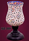 Sge Home Decorative Table Glass Lamps Hand made(Made in India)