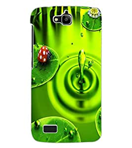 ColourCraft Beautiful Water Drop Image Design Back Case Cover for HUAWEI HONOR HOLLY