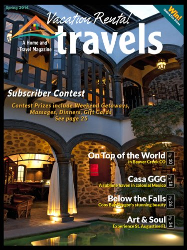 Vacation Rental Travels Magazine: A Home and Travel Magazine (2014)