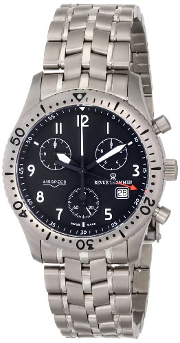 Revue-Thommen-Mens-16001-9197-Airspeed-Chronograph-Quartz-Black-Dial-Watch
