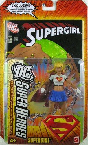 Buy Low Price Mattel DC SUPERHEROES JUSTICE LEAGUE UNLIMITED SUPERGIRL Figure (B000EGEZLA)