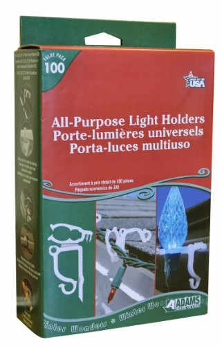 Adams Christmas 9040 99 1630 All Purpose Light Holder 100
