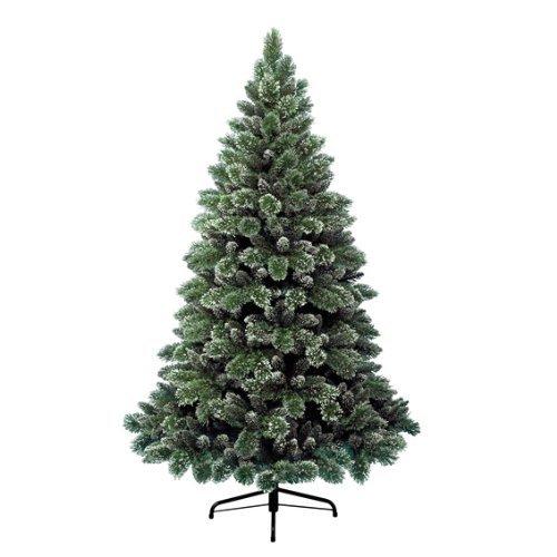 Kaemingk 688470 Finley Pine, gefrostet, Soft - und Hartnadel Mix, innen, Höhe 150 cm thumbnail