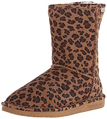 "Bearpaw Women's EMMA 8"" Pull On Brown Fashion Boot 5 M"