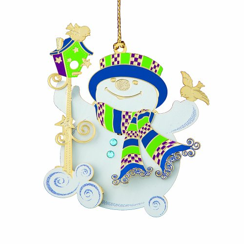 ChemArt Snippety Snowman Ornament