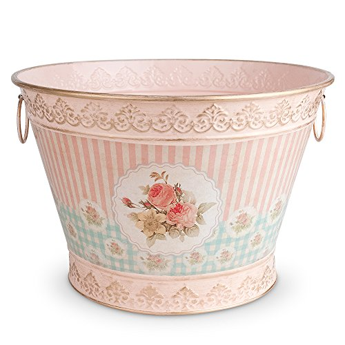 Epic Products Floral Vintage Chic Ice Bucket , Large, Multicolor 0