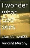 I wonder what God sees: @amedment28