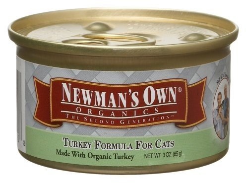 NEWMANS OWN ORGANIC CAT CAN TURKEY ORG3, 3 OZ