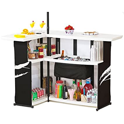 Best of Times NFL Patio Bar and Tailgating Center Deluxe Package- Green Bay Packers